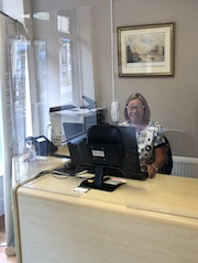 cleckheaton covid secure solicitors reception